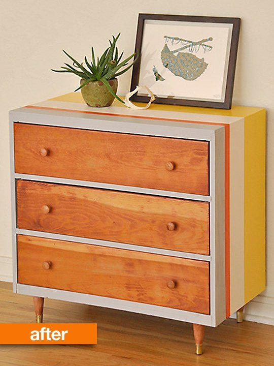 (via Before & After: A Sad Dresser Gets a Second Chance Design *Sponge | Apartment Therapy)
