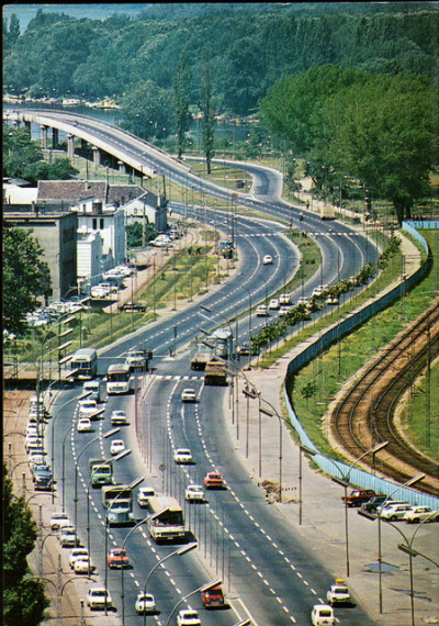 Beograd, Vojvoda Mišić Boulevard on Flickr.Turisticka Stampa, photo by I. Eterovic, sent 1976
