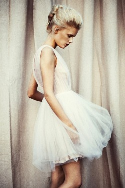 crypticalmodel:  fumikokawa:  tulle dress | Fashion Portrait Photography | ~F.  oh Abbey