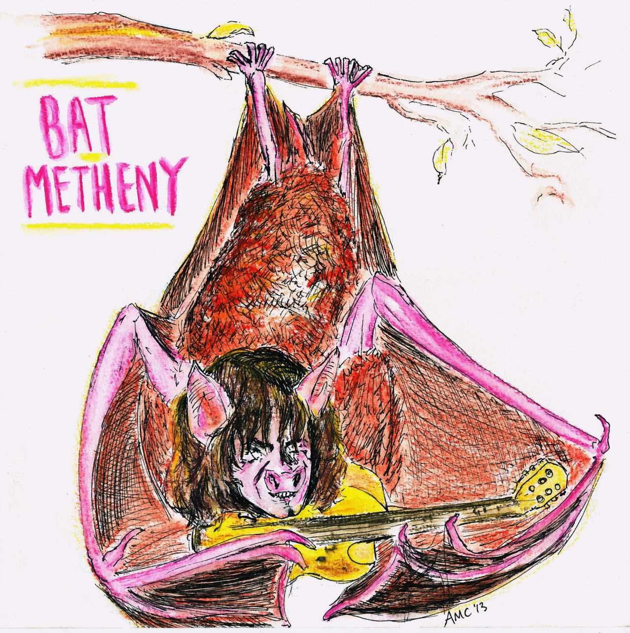 BAT METHENY (Pat Metheny on BBC's Whistle Test)
