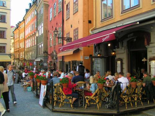 "The fact is, ever since cars were kicked out of central Copenhagen, the downtown has been thriving. ""For a while now, Copenhagen has had a policy of taking away three percent of the inner city parking every year, on the theory that if people can't park, they won't drive. If you do it slowly enough, nobody notices. I always say that quality of a city shouldn't be determined by counting how many pedestrians you have, but by the number of people who have stopped being pedestrians, and have decided to sit down and stay awhile. We found that for every fourteen square meters you take away from cars you can count on one extra cafe terrance seat. That means for every parking spot removed, you get two more people sitting and enjoying life.""  —Jan Gehl As quoted in Straphanger by Taras Grescoe, the current book I'm reading. It's making me really want to travel to Denmark. (FYI - Copenhagen is farther north than Saskatoon.) I'll be posting more tasty bits, but right now I'm imagining life in Copenhagen. They seem a little sassy there.  Sometimes, a shop owner still tries to claim his business was ruined because the city removed four parking spaces. But now the mayor can point to real figures and say: ""There are six thousand more people passing your shop a day than there were five years ago. Are you sure you're a good businessman?"""