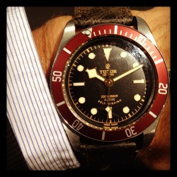 gqfashion:  Tudor watches returning to America this Fall.  Any watch enthusiasts dream come true. Just in time.  TS