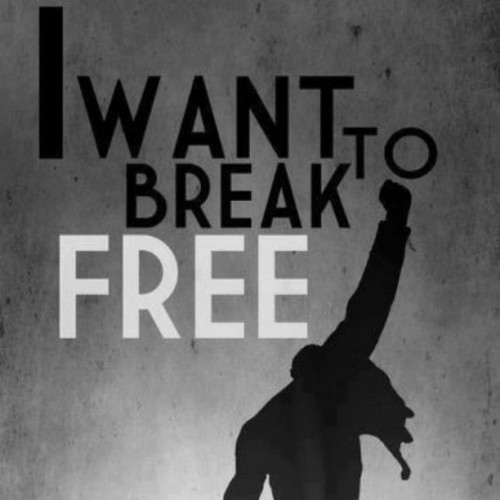 manuellm:  I want to break free… #FreddieMercury #Queen #Rock