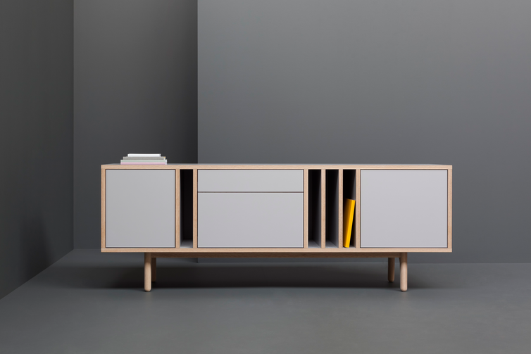 postbymichael:  Graft sideboard - Derek Welsh Studio