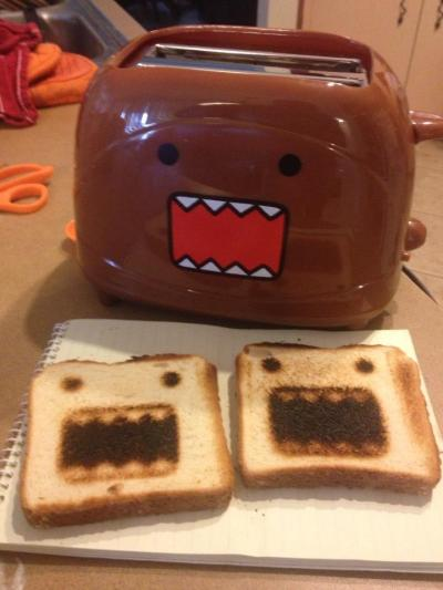 So my friend got a new toaster. Angriest sammichs, ever. - Imgur