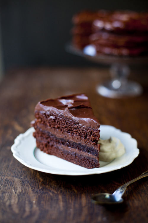 gastrogirl:  swedish chocolate dream cake.