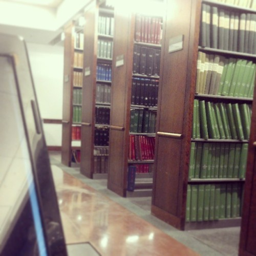 I am actually in the library right now… Craming everything about Economics for the next three hours. (at Baruch College - William and Anita Newman Library)
