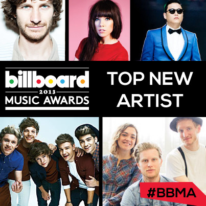 billboard:   Who's taking home the award for Top New Artist this year??