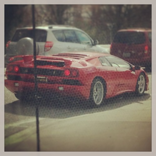 Hello beautiful.    #lambo #iwantyou #nicecar #1994 #lamborghini #diablo #red #$240000