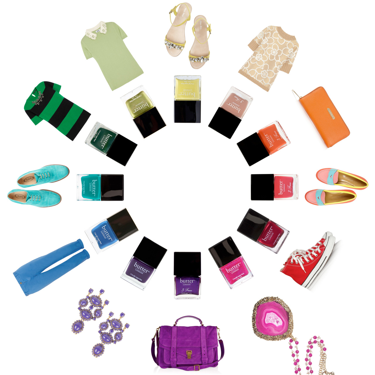 Brush up on your nail polish color theory. You'll never mismatch again.