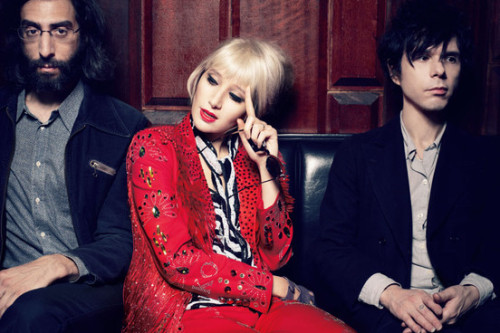 "Karen O promises new Yeah Yeah Yeahs album is 'uplifting and cheerful'NME.com   Karen O has revealed that Yeah Yeah Yeahs new album is the band's most stripped back and lo-fi sounding work in years, saying the songs are both ""uplifting and cheerful"". As revealed by NME yesterday (Jan 14), the New York band will release new album 'Mosquito' in April. You can see the album's controversial artwork by scrolling down the page."