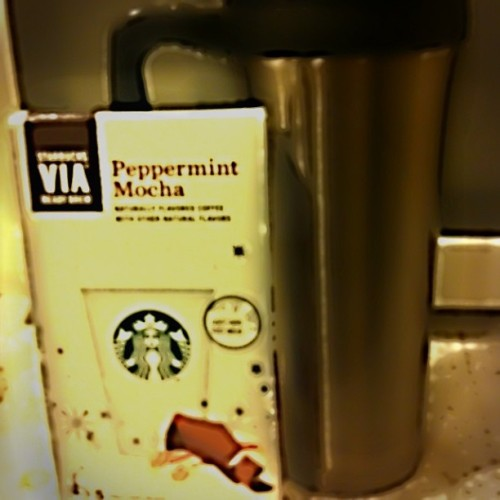 Why go to #Starbucks when it comes to you?? #peppermint   #mocha #coffee #break #today #cold #worksucks #corporatehell #instagood #picoftheday #iphoneonly   (at Corporate Hell)