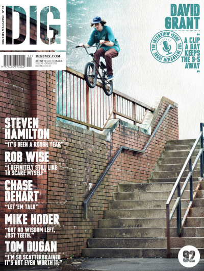 bmxiswhereitsat:  David Grants Banger in the 'BSD Living For The City' Edits and Scored a Cover whiles hes at it!