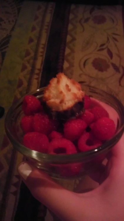 Yum. Raspberries are the best