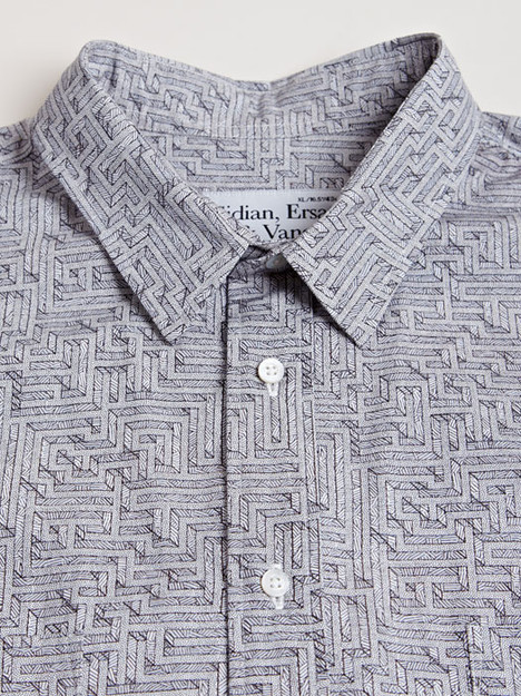 streetstylemarket:  Sidian Ersatz And Vanes Men's Graphic Print Shirt | LN-CC