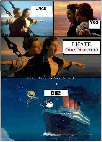 xmanoeeekkx:  Titanic  One direction