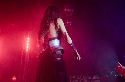 loreenxtalhaoui:   My photo from Loreen's performance at WONK, 18.05.2013. Please respect the copyright.