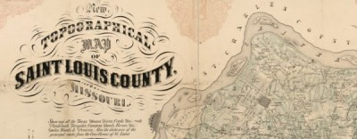 Waagner's map of St Louis County, MO (1857)Waagner's map of St Louis County, MO (1857)         Waagner's map of St Louis County, Missouri…View Post