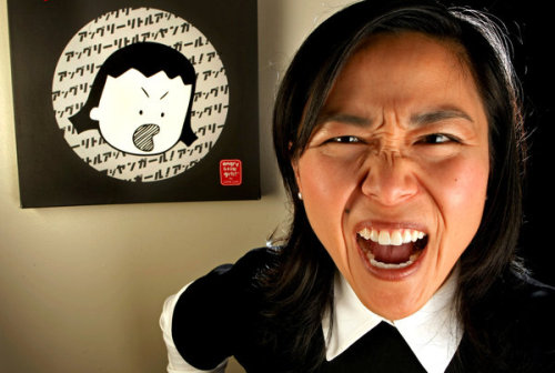 Watch out! Angry Asian girl is sharing her feelings:  'Angry Little Girls,' an online comic strip about Asian American female rage, is coming to TV this summer. Yay! Another outlet for all that fury.