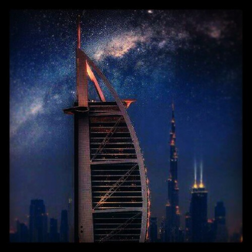 #BurjArab with #BurjKhalifa in the backdrop #Dubai #UAE #igers #igersdubai