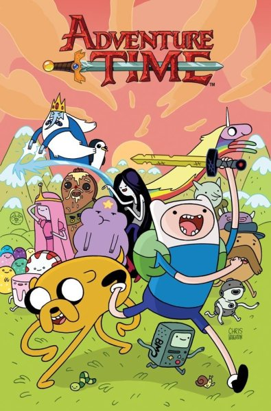 ryannorth:  Adventure Time Vol 2 is #4 on the NYT bestselling comics list! | (• ◡ •)|   — Daaaaaang y'all!   — (❍ᴥ❍ʋ)    You can get your copy here!  Awesome that Adventure Time continues to rule.