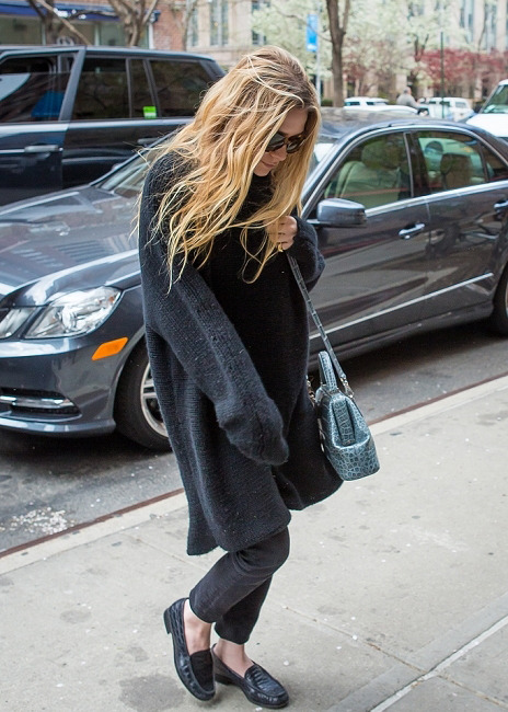 the-olsens:  22 April 2013: Ashley Olsen arrives at the Greenwich Hotel, Tribeca