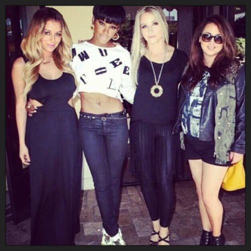 Danity Kane, Minus D. Woods Spotted Having Lunch…. Is a Reunion in the Works? http://bit.ly/17o1B80