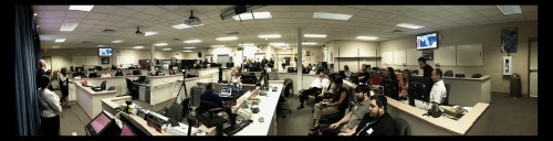 Panorama from the #getsocialbrevard event last night at @brevardeoc's emergency bunker