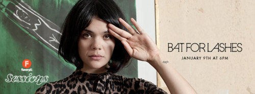 Tune in RIGHT NOW to see one of our favorite artists, Bat For Lashes, play a Flavorpill Session! On Livestream right now! » http://ow.ly/gGjwr