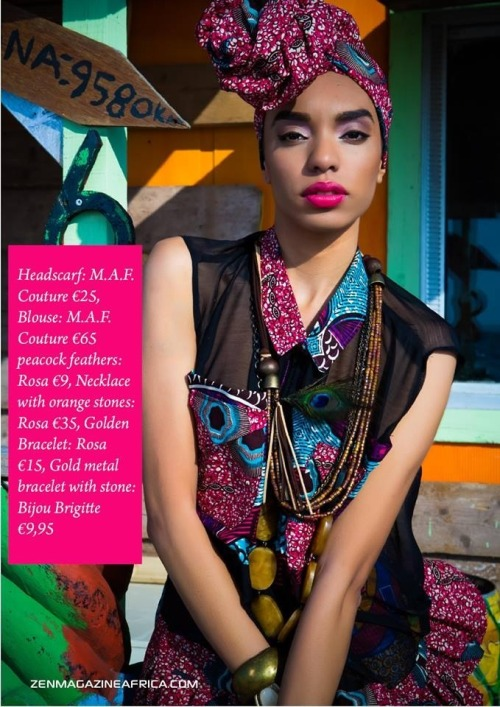 Turbanista From Zenmagazine http://zenmagazineafrica.com/editorials/m-a-f-coutures-colorful-summer-collection/