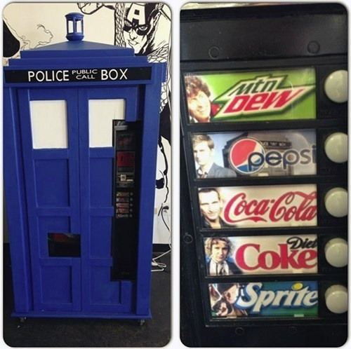 Tardis Vending Machine, I want