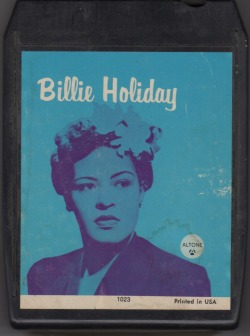 Billie Holiday 8 Track tape