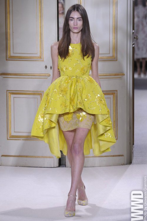 womensweardaily:   Giambattista Valli Spring Couture 2013