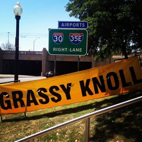 THE Grassy Knoll. (at Dealey Plaza)