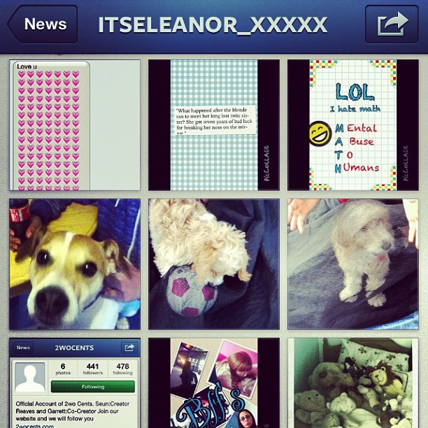 Follow her @itseleanor_xxxxx