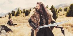 the hobbit thorin oakenshield movie: The Hobbit richard armitage Thorin king under the mountain
