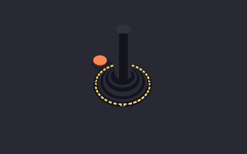 Wallpaper Wednesday Download Atari Minimalist - by Nick Gonzalez
