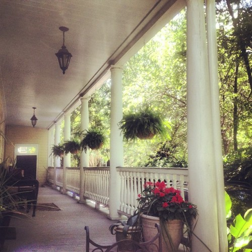 Days like this make me appreciate working from home #charleston #frontporch  (at Radcliffeborough)