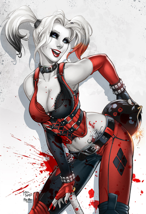 comicbookdeviant:  Harley Quinn // Art by Mike De Balfo