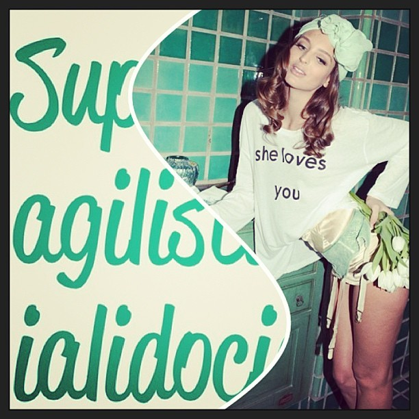 Photo : @wildfox - Kitty #instacollage #wildfox #fashion #magic #words #love 💚
