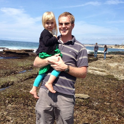 Daddy Daughter Date! (at La Jolla Tidepools)