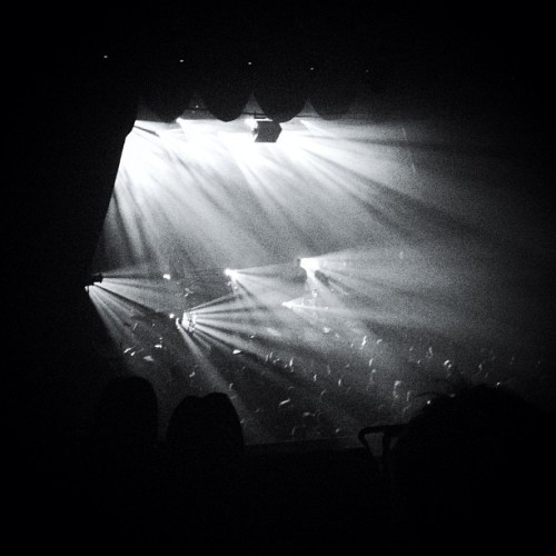 Woodkid was more than inspiring last night. (at The Fonda Theatre)