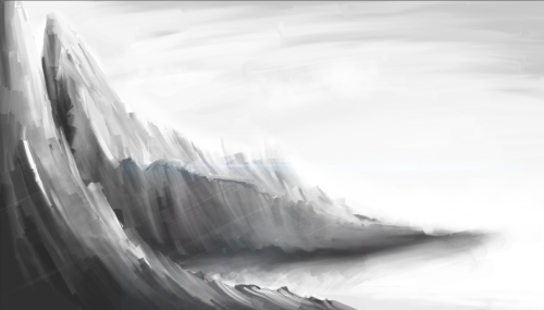 First 30 minute digital painting with Corel Painter