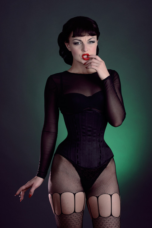anastasiaarteyeva:  By Joseph Barrett.   I need those stockings in a size fat.