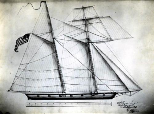 """ US Navy Schooner LYNX — Lost at Sea, 1820 ""  On 11 January 1820, the schooner Lynx, commanded by Lieutenant J. R. Madison, departed St. Mary's, Georgia bound for Kingston, Jamaica to continue her service suppressing pirates. She was never heard from again. Despite the schooner, USS Nonsuch's, search for Lynx, no trace of her or her 50 man crew was ever found."