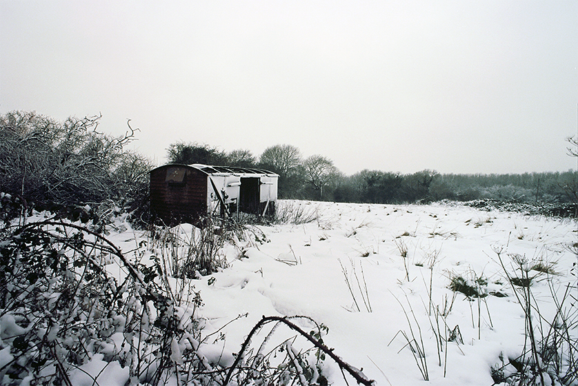 #15 Snowy Welsh Field - 35mm: Kodak Ektar 100