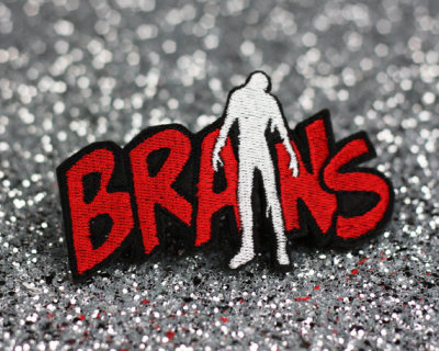 """Brains"" Hair Clip by JanineBasil"