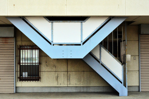 Strange Stairs  by pokoroto on Flickr.