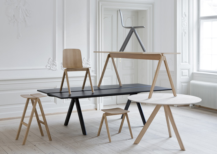 Hay furniture, designed by Ronan and Erwan Bouroullec.