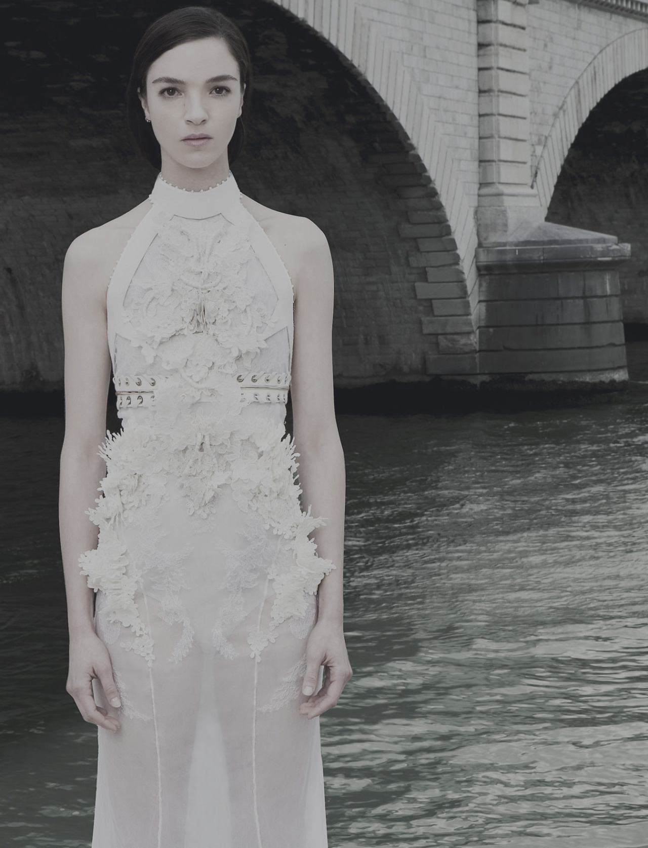 l-acus:  mariacarla boscono at givenchy haute couture fw '12